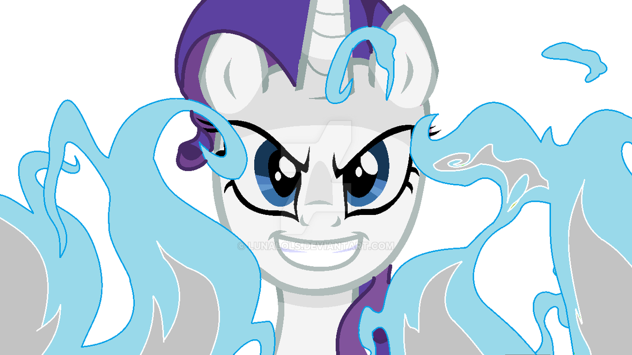 rarity evil by lunalols on deviantart