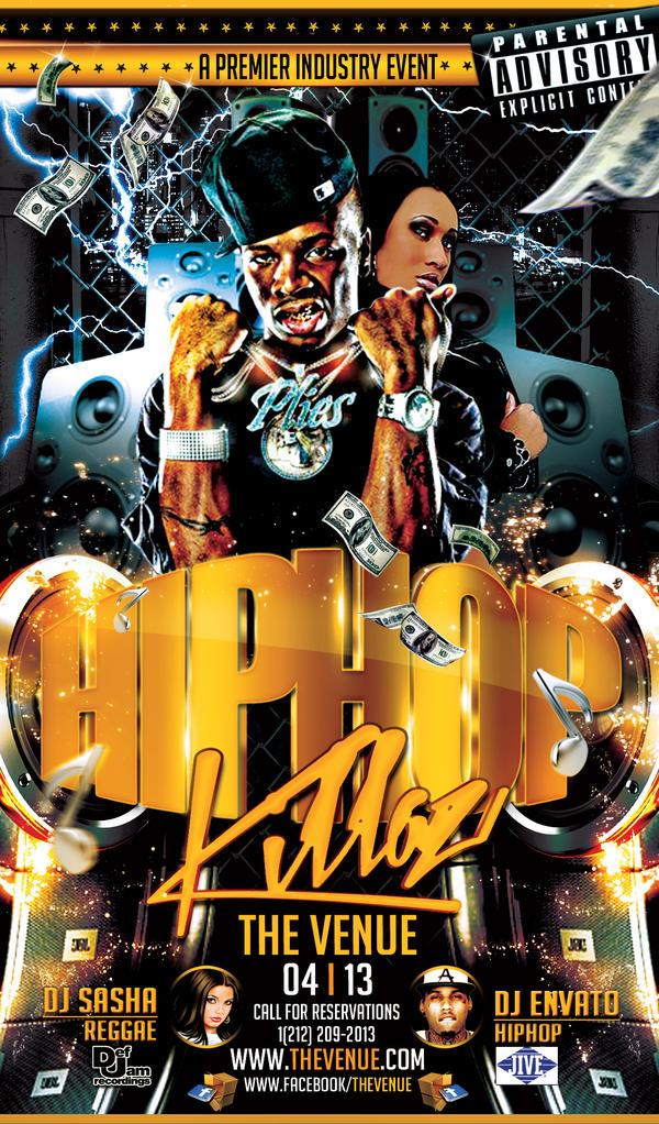 Hiphop Killaz Flyer Template By Joser0gfx On Deviantart