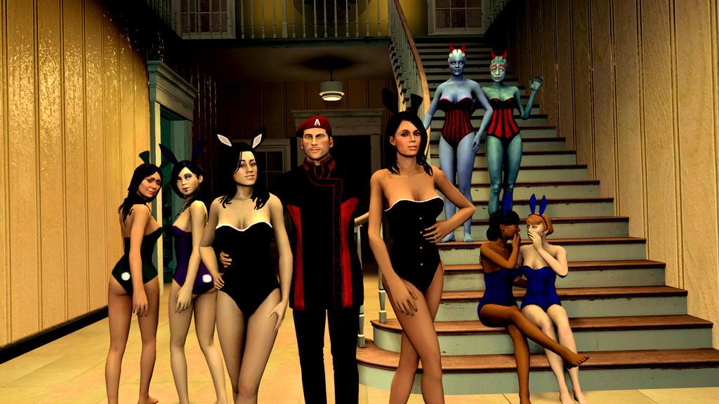 Shepard's Playboy Bunnies and Devils by Vitezislav