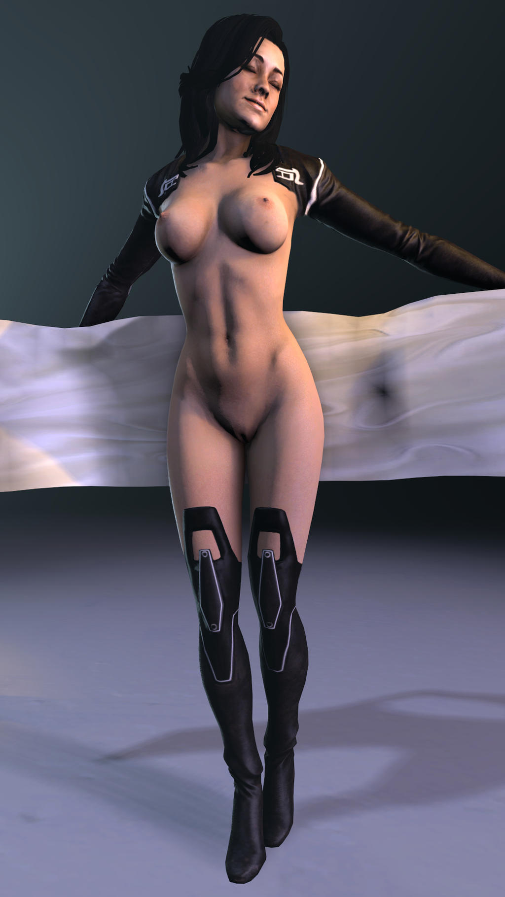3d miranda lawson039s ass is really nice futanari 2