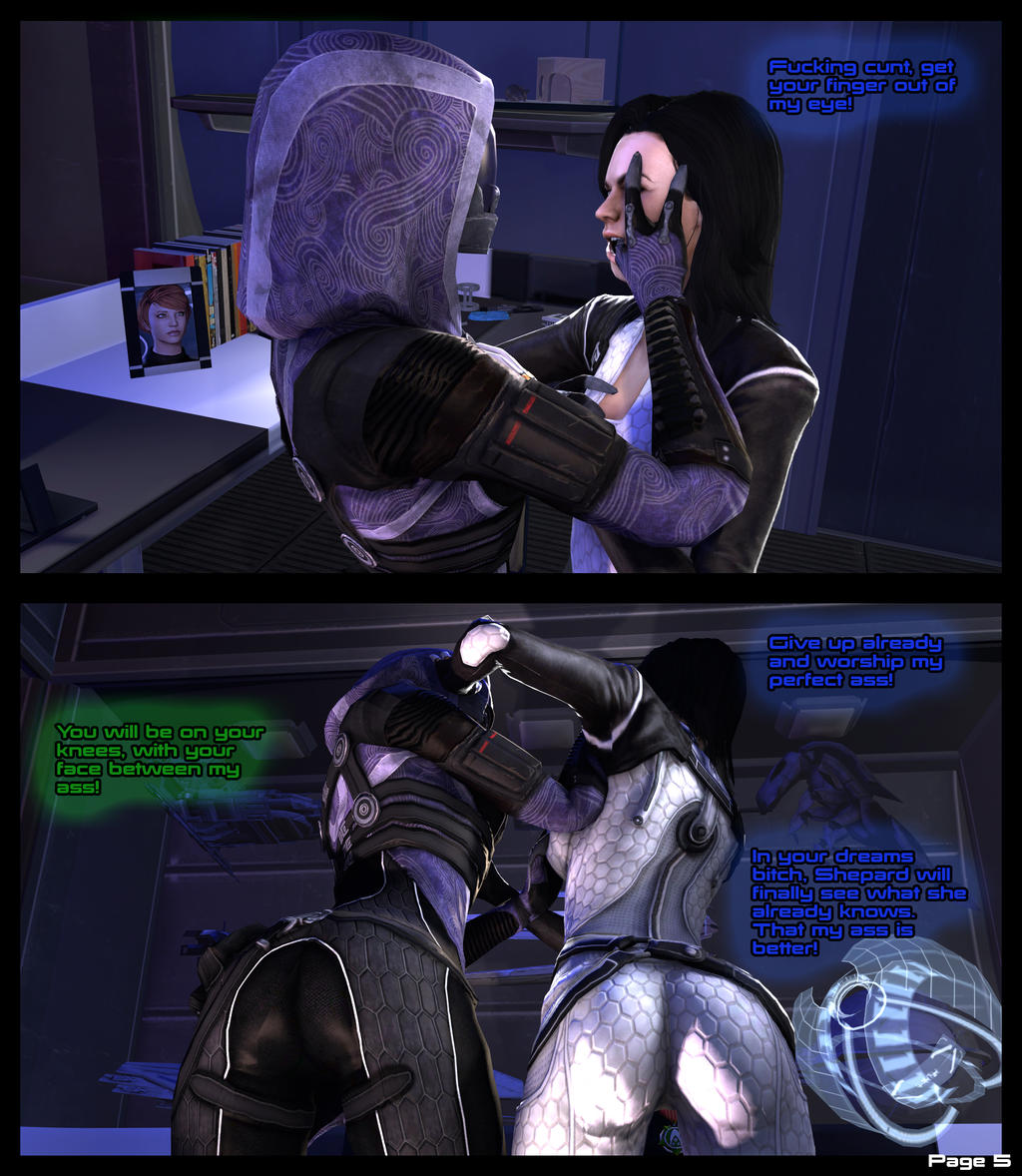 Liara knows how to ride 2