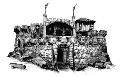 Molly's Castle by sketchmarcks