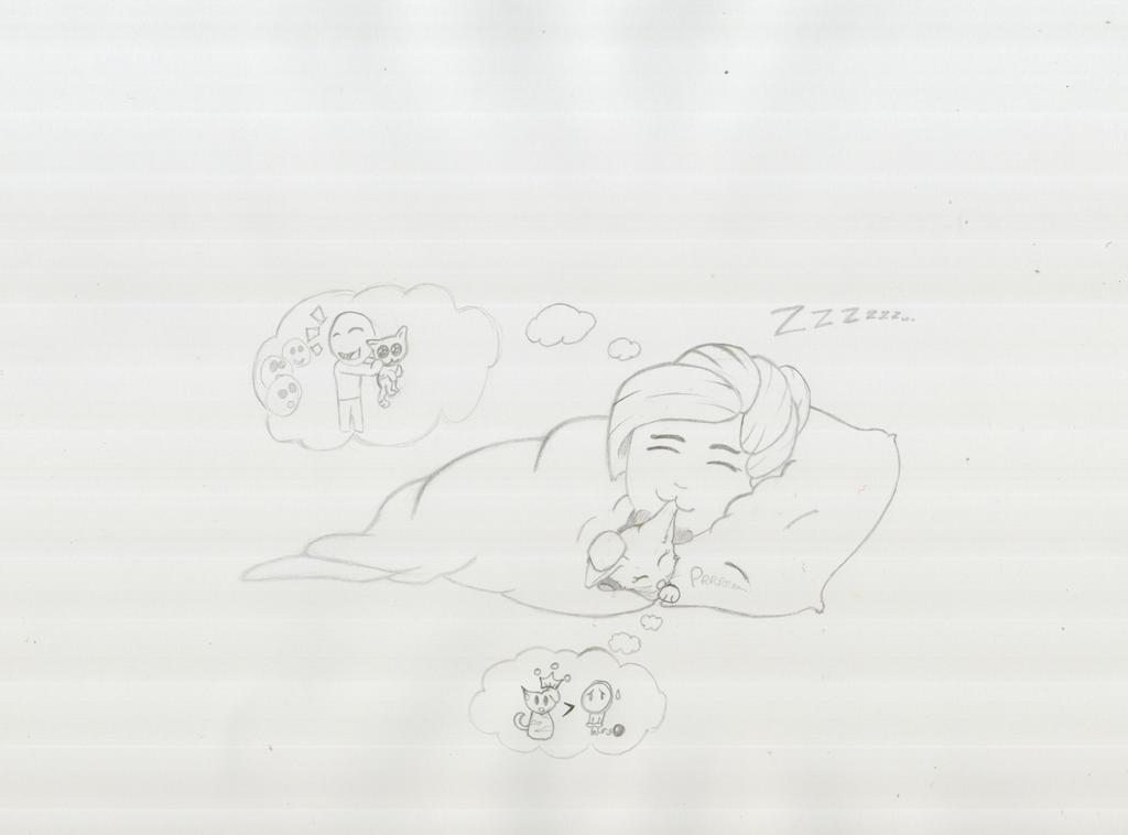 Kittens Dreams by LonelyTear-T-T