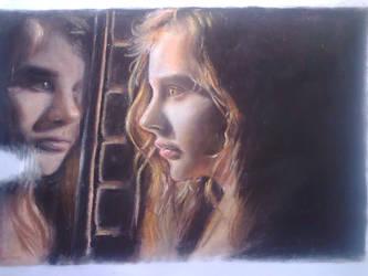 pastel of 'Let Me In' by fantafiction