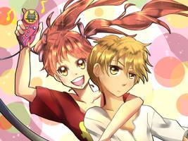 Kodocha - Sana and Akito by AMP-97
