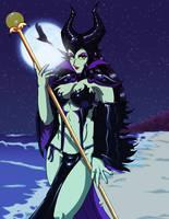 Gothic Maleficent by Shodukari