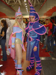 Mago e Maga nera romics 2007 by axel91