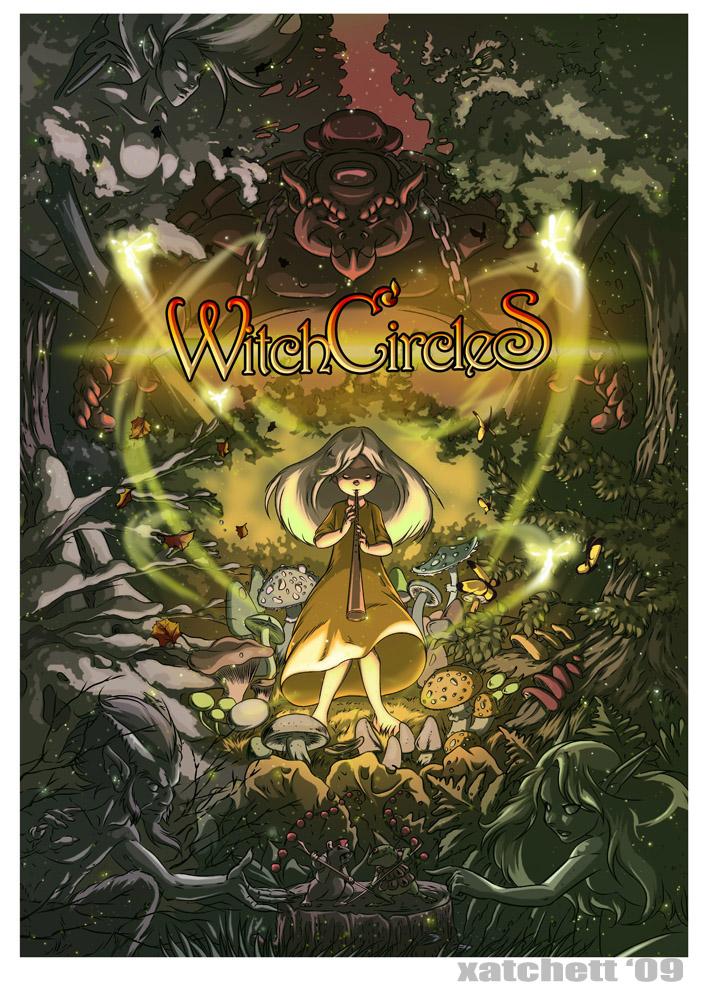 Witch Circles by Xatchett