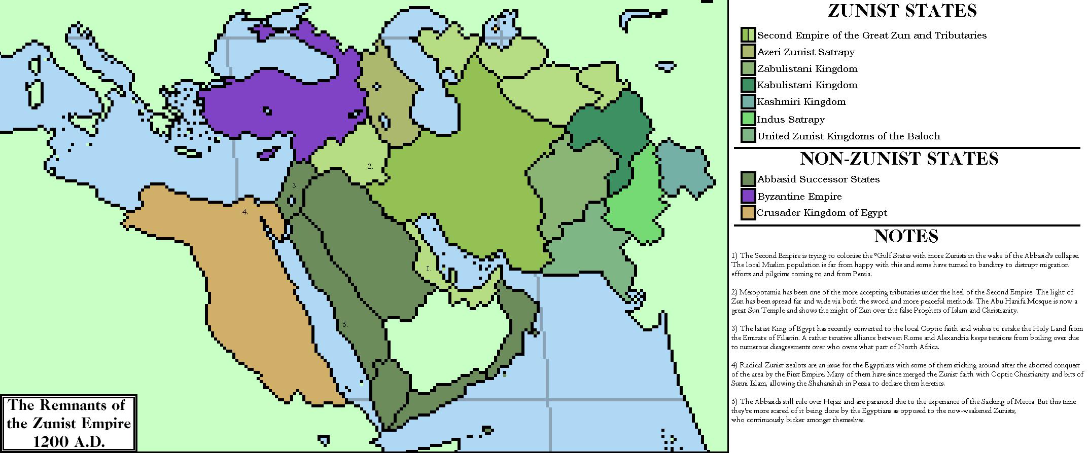 Second Great Awakening Map