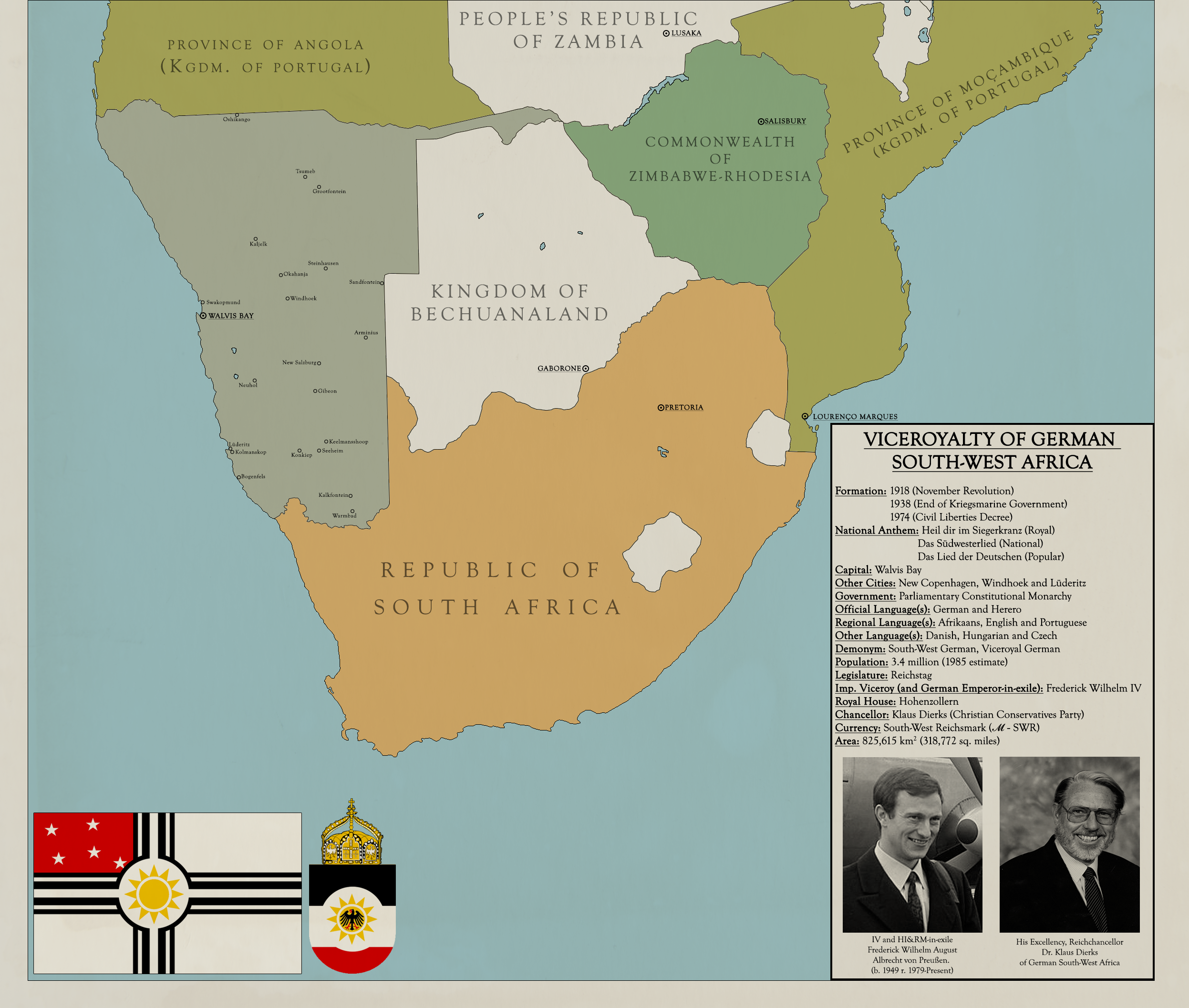 Map South West Africa Map of German South West Africa by KitFisto1997 on DeviantArt
