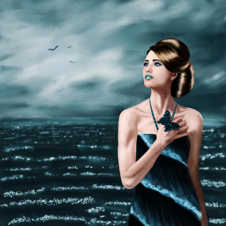 Stormy Seas by Karsmera