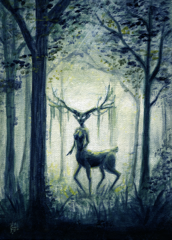 Guardian of the forest by KuroCyou