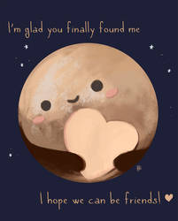 Pluto is the cutest planet ever by KuroCyou