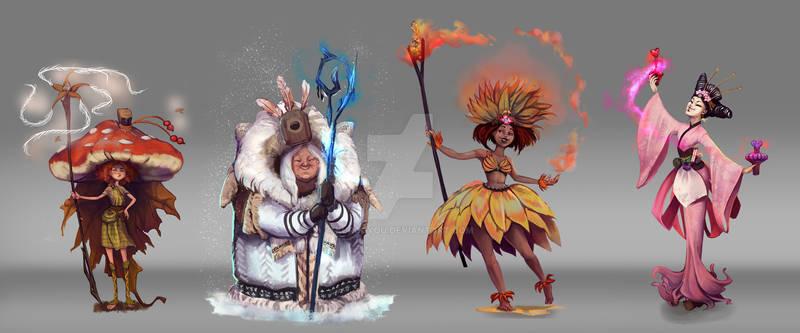 Season witches