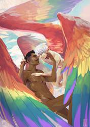 Pride Wings by KuroCyou