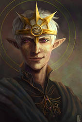 Inquisitor Fael Lavellan by KuroCyou