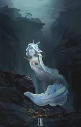 Nudibranch mermaid by KuroCyou