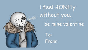 Valentines Card - You are SANSational