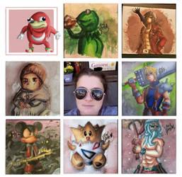 Art vs Artist Meme