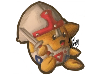 Medieval Fair Charity Collab - Togepi