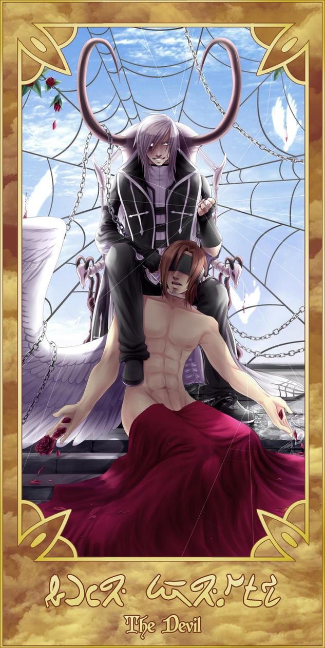 Tarot Card - XV .:. The Devil by Dx33x