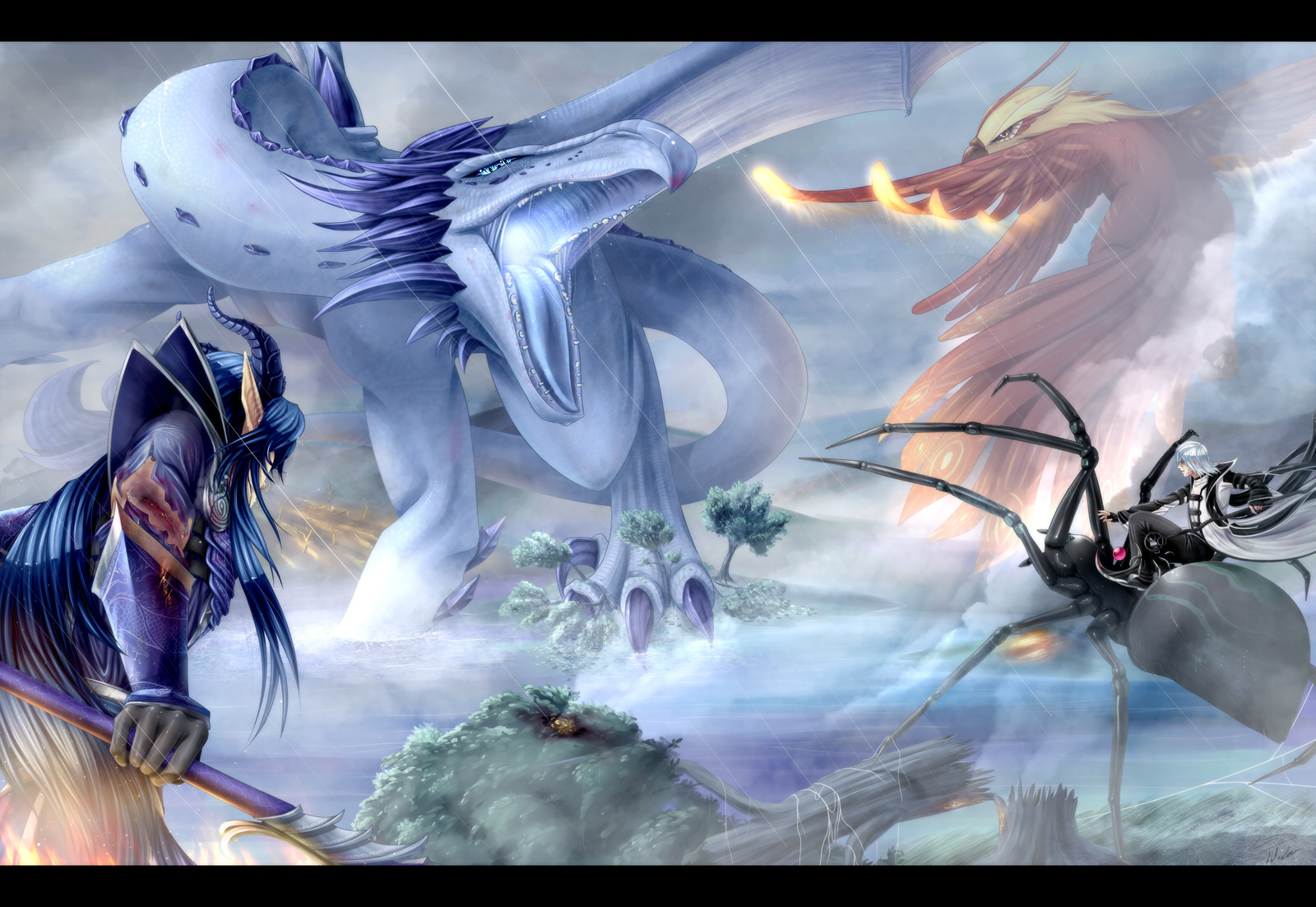 SoC: Against Fire and Ice by Dx33x