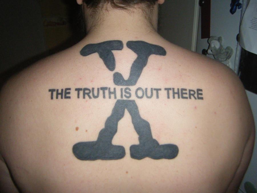 Small X Files Tattoo: X-Files Tattoo By Psykopatmullvad On DeviantArt