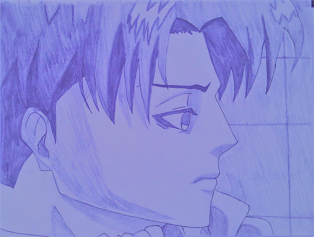 Levi Pencil Sketch by FantasyEverythingEve