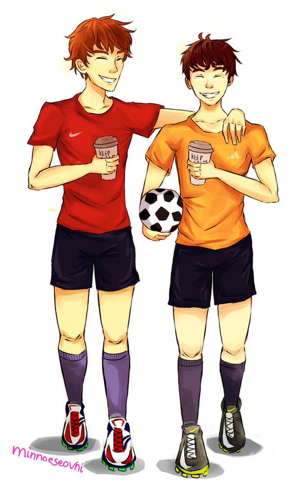 Soccer and Coffee by NoySighx