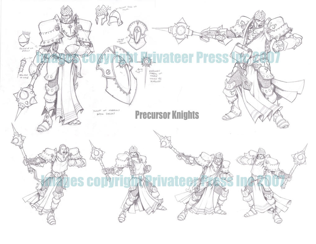 Precursor Knights by cwalton73