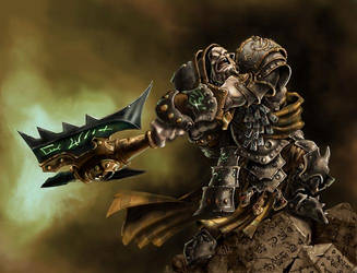 Madrak Ironhide, World Ender by cwalton73