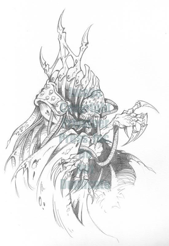 Monsternomicon2-Machine Wraith by cwalton73