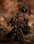Skorne Tyrant and Standard