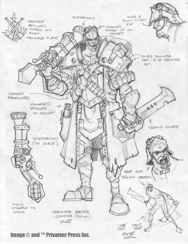 Trencher Master Gunner by cwalton73