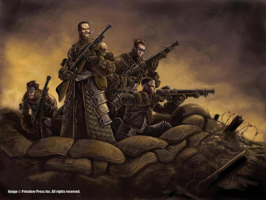 Steelhead Riflemen by cwalton73
