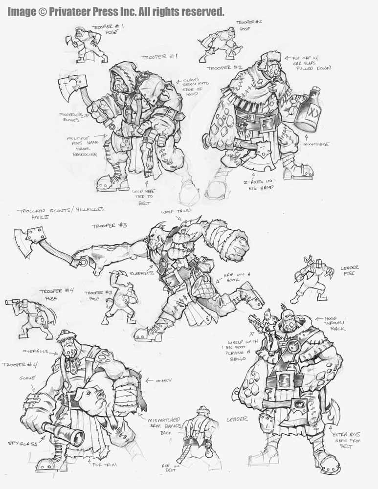 Trollkin Scouts by cwalton73