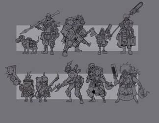 Pokeylips Sketches by cwalton73