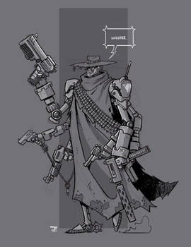 Mecha Sketch 8