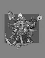 Dwarf Miner by cwalton73