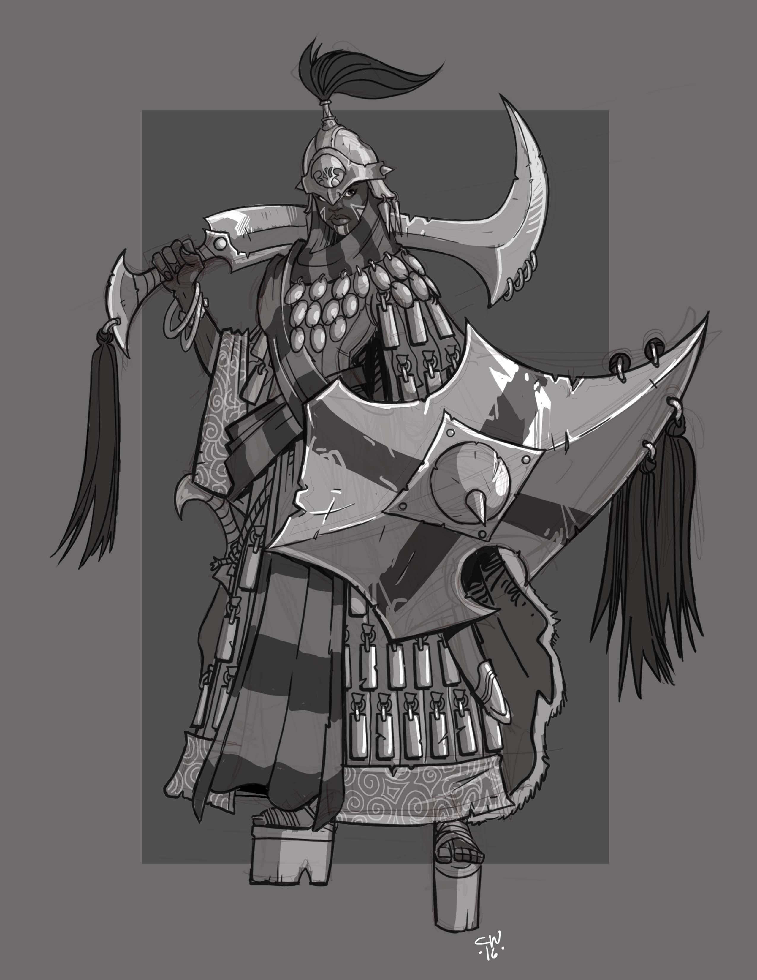 Imperial Legionnaire by cwalton73