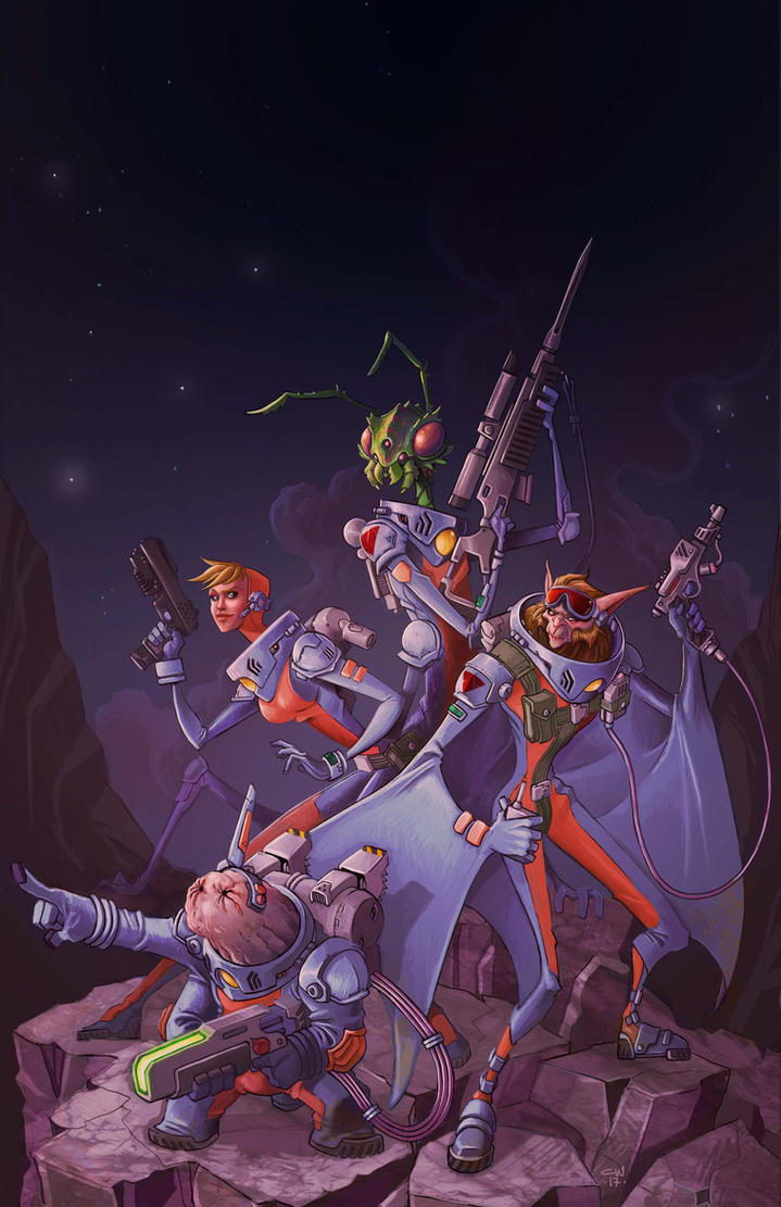Star Frontiers by cwalton73