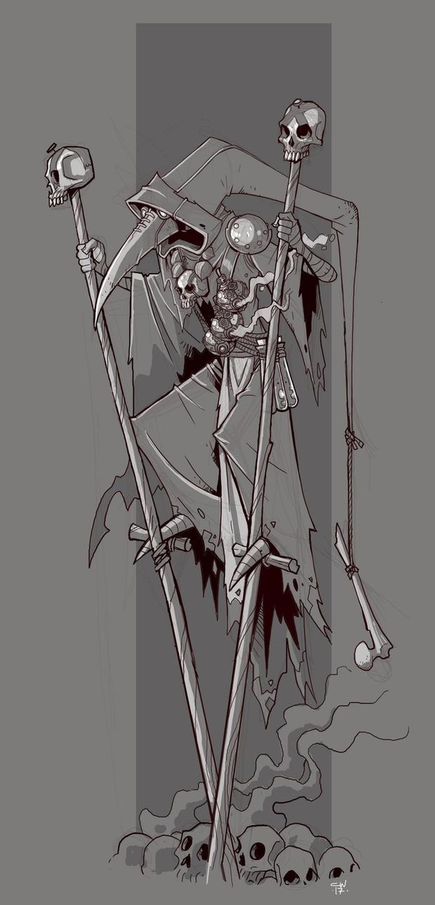 Plague Doc by cwalton73