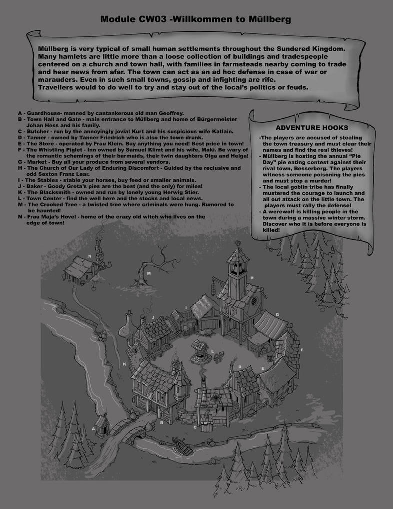 Adventure Town! by cwalton73