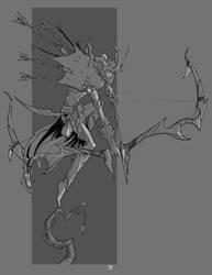 Elf Archer by cwalton73