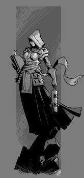 Darkest Dungeon Fan Art - Vestal