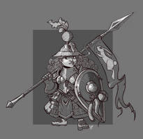 Halfling Squire by cwalton73