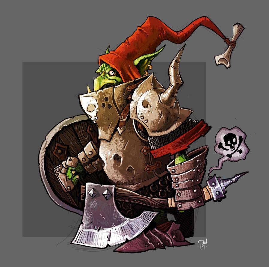 Goblin Knight Color by cwalton73