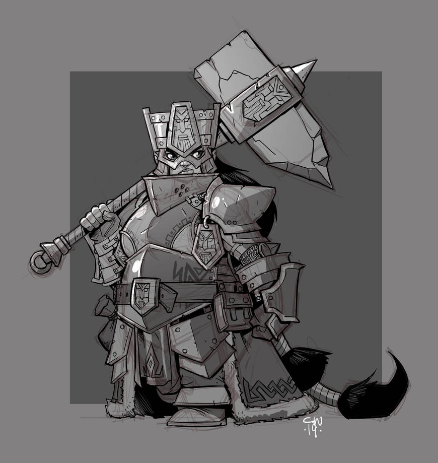Forge Guardian by cwalton73