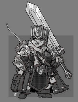Dwarf Greatsword