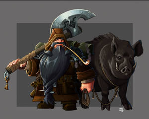 Dwarf Ranger Color